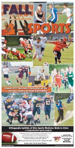 August 2017 Fall Sports Preview