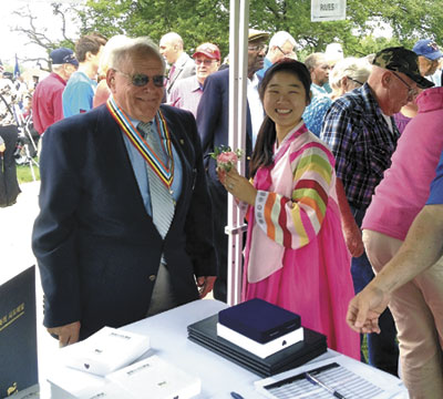 Ottawa veteran of Korean War honored