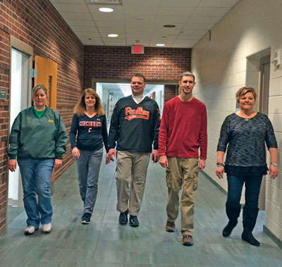 Ottoville steps up for step challenge