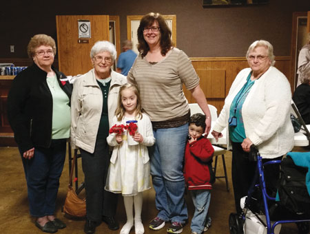 Columbus Grove American Legion Auxiliary chooses Miss Poppy