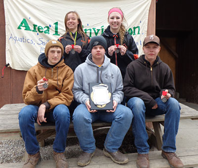 Fort Jennings envirothon team qualifies for state