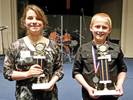 County has two state winners in oration contest