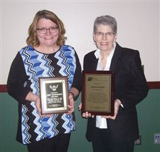 School administrative professionals honored