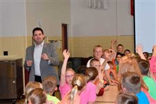 Kalida kids get 'hands-up' governing experience