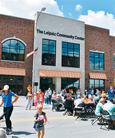 Grand opening of Leipsic Community Center a festival