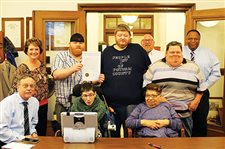 Commissioners proclaim March Developmental Disabilities Awareness Month