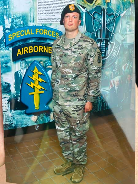 Jennings man completes Special Forces training